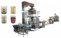 Fennel packaging machine