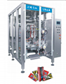 pet food packaging machine in flat bottom bag pack