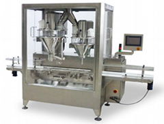 Double Head Weighing Linear Filling Machine