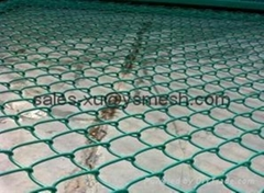 Manufacturer China chain link fence for ground play