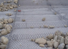 Factory wholesale galvanized wire rock wall hexagonal gabion box