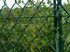 gauge chain link fence