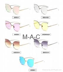 2017 promotional fashion sunglasses women