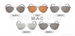 Cat Eye Women Sunglasses Brand Designer Metal Frame
