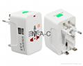 Electric Plug power Socket Adapter International travel adapter Universal Travel