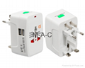 Electric Plug power Socket Adapter International travel adapter Universal Travel