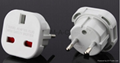 EU to UK plug adapter travel adaptor