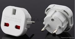 EU to UK plug adapter travel adaptor