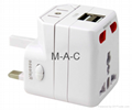 UK/US/AUS/EU Universal Travel Adaptor All in one adaptor