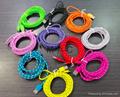 new braided nylon usb charging 3.1 type