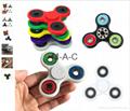 9 colors Tri-Spinner Fidget Spinner Toy Plastic EDC Hand Spinner