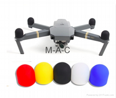 Quadcopter Motor Accessories Silicone Motor Cap Protector Brushless Motor Protec