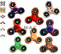Tri-Spinner Fidget Toy EDC HandSpinner Anti Stress Reliever And ADAD Hand Spinne