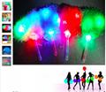 2017 Dance LED Lighting Cheerleading Pompon Hand Ball Pom Poms Flower Cheering