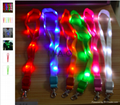 LED Light Up Neck Strap Band Lanyard key chain ID Badge Hanging Lace Rope Unique