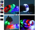 Voice Control LED Bracelet Sound Activated Flashing Bracelet Wristband for Night