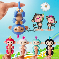 Fingerlings colorful finger monkey series