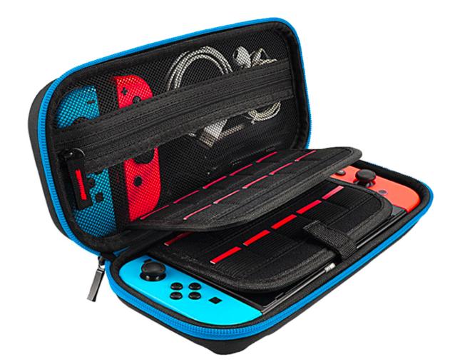 Durable Nitendo Case--blue