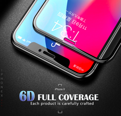 6D Full coverage protective glass for iPhone X Xr XS max glass