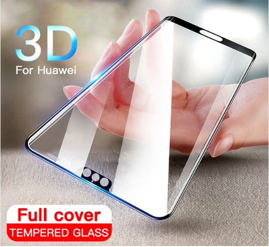3D Full Cover Tempered Glass For Huawei P20 Pro P10 Lite Plus 1