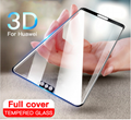 3D Full Cover Tempered Glass For Huawei P20 Pro P10 Lite Plus