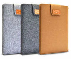 7.9-10'' Sleeve Bag Case Universal Wool Felt Fabric Tablet Cover for ipad