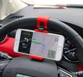 Universal Steering Clip Car Phone Holder