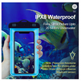 Water proof cell phone bag PVC waterproof phone case for iphone X Xs Xr