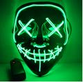 Halloween Mask LED Light Up Party Masks
