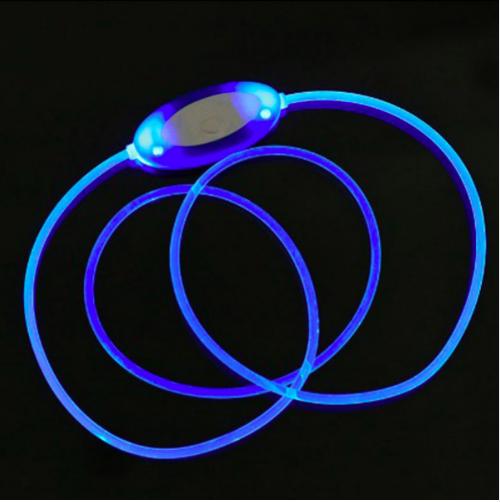 LED Dog Collar USB Rechargeable Glowing Dog Collars Luminous Pet Led Flash Night 4
