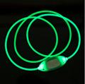 LED Dog Collar USB Rechargeable Glowing Dog Collars Luminous Pet Led Flash Night 5