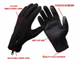 Winter Touch Screen Gloves Men Warm Windproof Glove For Men Fashion Classic Bla