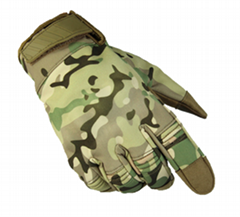 New Military Combat Gloves Men's Waterproof Army Tactical Gloves Camouflage Ful