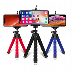 Tripods tripod for phone Mobile camera holder Clip smartphone monopod