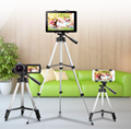 36-100 cm Universal Adjustable Tripod Stand Mount Holder Clip Set For Cell Phone