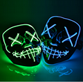 Halloween Mask LED Maske Light Up Party Masks