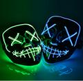 Halloween Mask LED Maske Light Up Party Masks