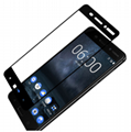 Full Cover Tempered Glass For Nokia 6 5 3 8 7 2 Toughened Glass For Nokia6 X5 5.