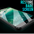 7D Aluminum Alloy Tempered Glass For iPhone 6 6S 7 Plus Full Screen Protector Pr 2