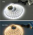 5V 50CM 1M 2M 3M 4M 5M USB Cable Power LED strip light lamp SMD 3528 Christmas d 2