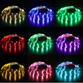 DC5V USB LED Strip SMD5050 RGB Flexible Light 1M/2M RGB LED Strips Adhesive Tape for TV Background Lighting