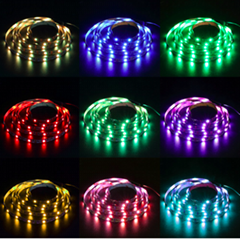DC5V USB LED Strip SMD5050 RGB Flexible Light 1M/2M RGB LED Strips Adhesive Tape