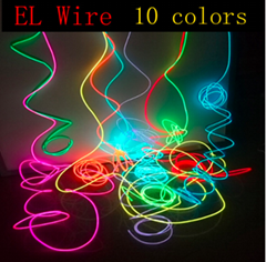 1M/2M/3M/5M/10M Neon Light Dance Party Decor Light Neon LED lamp Flexible EL Wir
