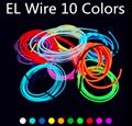 EL Wire Neon Light Novelty Light Neon LED lamp Flexible Rope Tube LED Strip Stri