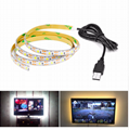 Wireless Motion Sensor LED Strip lamp 1M 2M 3M USB LED Strip Use In TV Under Bed Cabinet Closet Wardrobe Stairs Door Night light