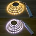 Wireless Motion Sensor LED Strip lamp 1M 2M 3M USB LED Strip Use In TV Under Bed 2