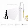 Wireless Motion Sensor LED Strip lamp 1M 2M 3M USB LED Strip Use In TV Under Bed 3