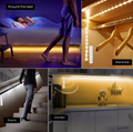 Wireless Motion Sensor LED Strip lamp 1M 2M 3M USB LED Strip Use In TV Under Bed