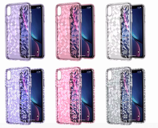 Speck Diamond Case for iPhone Xr Xs Max X Soft TPU Transparent Phone
