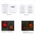 Airpods Cases For Apple Airpod 1 Airpod 2 Strap Leather with Buttons Headphone C